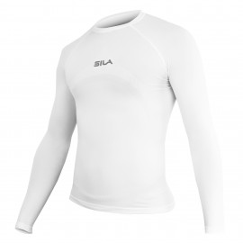 Maillot Underwear SILA PRIME Blanc Manches longues