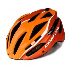 CASQUE CRATONI PACER JUNIOR - ORANGE / JAUNE