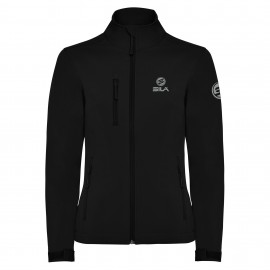 JACKET Softshell SILA Black Woman