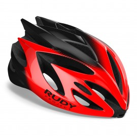 CASQUE RUDY PROJECT RUSH - ROUGE / NOIR BRILLANT