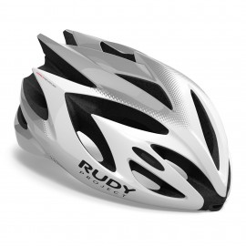 CASQUE RUDY PROJECT RUSH - WHITE / SILVER