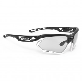 SUNGLASSES RUDY PROJECT DEFENDER BLACK MATTE / GLASSES BLACK SMOKE