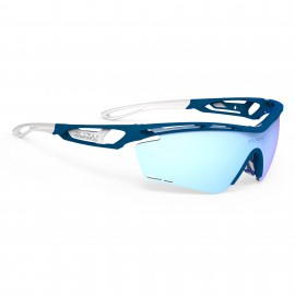 SUNGLASSES RUDY PROJECT TRALYX BLUE MATTE - GLASSES ICE MULTILASER