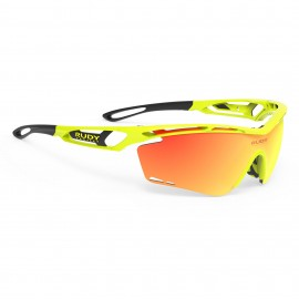 SUNGLASSES RUDY PROJECT TRALYX YELLOW FLUO - GLASSES ORANGE MULTILASER