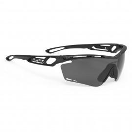SUNGLASSES RUDY PROJECT TRALYX MATTE BLACK - GLASSES SMOKE BLACK
