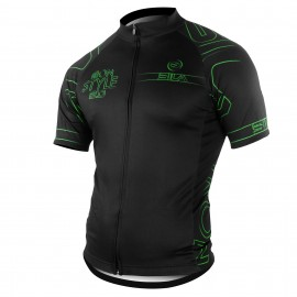 MAILLOT SILA IRON STYLE 2.0 VERT - Manches Courtes