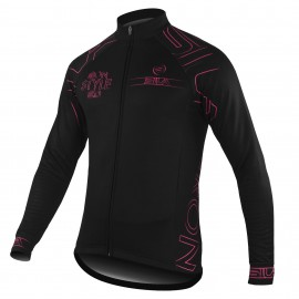 JERSEY/JACKET MID SEASON IRON STYLE PINK-long sleeves