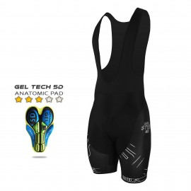 CYCLING BIB SHORT SILA IRON STYLE WHITE