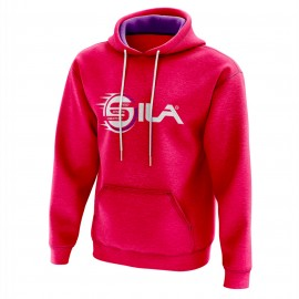 HOODIE SILA Speed & Sports Creativity FUSHIA