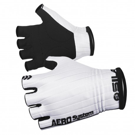 PRO AERO SHORT GLOVES SILA - WHITE