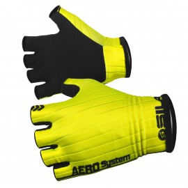 PRO AERO SHORT GLOVES SILA - YELLOW FLUO