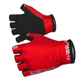 PRO AERO SHORT GLOVES SILA - RED