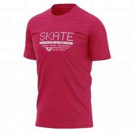 T-SHIRT SILA SKATE SUPPORT - Rouge
