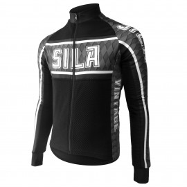 JERSEY/JACKET MID-SEASON SILA VINTAGE - GRIS -long sleeves