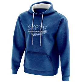 SWEAT À CAPUCHE SILA SKATE SUPPORT - Bleu