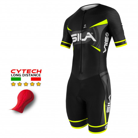 TRI SUITS PRO AEROLITE SILA TEAM - YELLOW FLUO- Ss