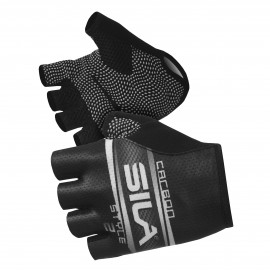 SHORT GLOVES SILA - CARBON STYLE 2 WHITE