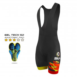 CYCLING BIB SHORT SILA NATION STYLE 2 - ESPANA