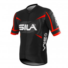 MAILLOT PRO RACE SILA TEAM - ROUGE - Mc