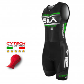 TRI SUITS SILA CARBON STYLE 2 GREEN - SL