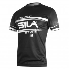 RUNNING MAN JERSEY SILA CARBON STYLE 2 - WHITE - Ss