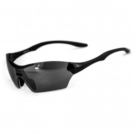 SUNGLASSES SILA TRIGO - BLACK - SMOKE BLACK LENSES