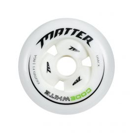 ROUE MATTER CODE WHITE - 100 mm