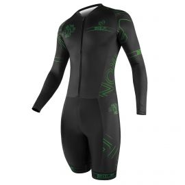 SKATING SUIT SILA IRON STYLE 2 Green - Long sleeves