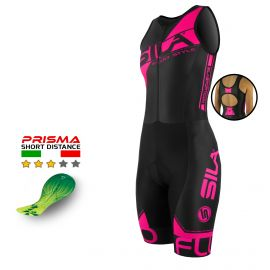 TRIFONCTION FEMME SILA FLUO STYLE 3 ROSE - Sm