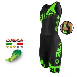 TRI SUITS SILA FLUO STYLE 3 GREEN - WOMEN - SL