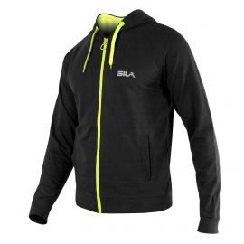 HOODIE SILA PRIME FUO BLACK/YELLOW