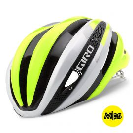 HELMET GIRO SYNTHE - WHITE / YELLOW FLUO
