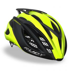 HELMET RUDY PROJECT RACEMASTER - BLACK MATTE / YELLOW FLUO
