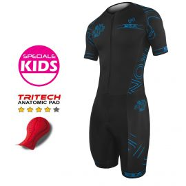 TRI SUITS SILA IRON STYLE 2.0 BLUE - KIDS - SS