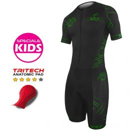 TRI SUITS SILA IRON STYLE 2.0 GREEN - KIDS - SS