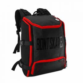 BONT BACKPACK - BLACK / RED