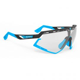 SUNGLASSES RUDY PROJECT DEFENDER LTD BLACK / BLUE - GLASSES PHOTOCHROMIC