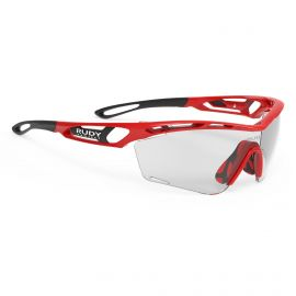 SUNGLASSES RUDY PROJECT TRALYX SLIM RED BLACK - GLASSES PHOTOCHROMIQUE