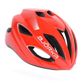 HELMET BJÖRKA HB51 - RED / BLACK