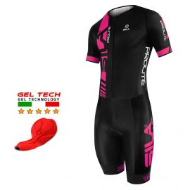 CYCLING SKINSUIT PROLITE SILA PINK - SS