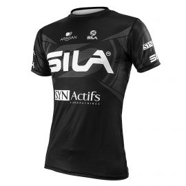 JERSEY MAN RUNNING PRO ULTRALIGHT - SILA TEAM BLACK- Ss