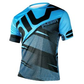 RUNNING JERSEY MEN FUSION BLUE