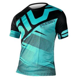 RUNNING JERSEY MEN FUSION EMERAUDE