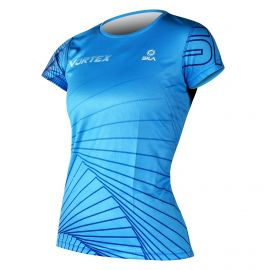 RUNNING JERSEY WOMEN VORTEX BLUE