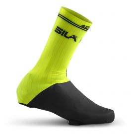 PRO AERO LYCRA SHOE COVER - SILA YELLOW