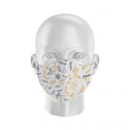 MASK SILA CHRISTMAS GOLD - Ergo Form - Filtration 2 - UNS2