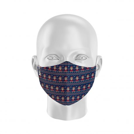 MASK SILA CHRISTMAS KNIT - Ergo Form - Filtration 2 - UNS2