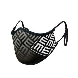 TRIFORCE WHITE Mask ADJUSTABLE - Ergo Form - Filtration 2 - UNS2