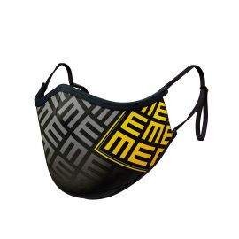 TRIFORCE YELLOW MASK ADJUSTABLE - Ergo Form - Filtration 2 - UNS2