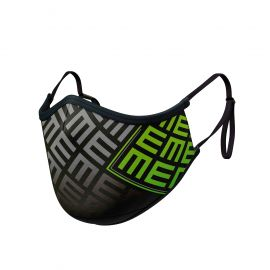 TRIFORCE GREEN Mask ADJUSTABLE - Ergo Form - Filtration 2 - UNS2